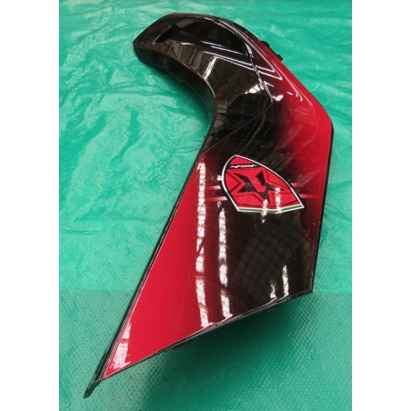 Tapa Derecha Panel Frontal de Cubierta Plástica (Color Rojo)